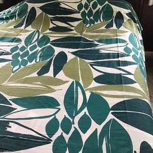 NWOT West Elm Queen Organic Duvet Cover